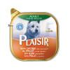 کنسرو سگ پلایزر حاوی گوشت مرغ و سبزیجات (300 گرم)