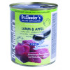 کنسرو سگ دکتر کلادرز حاوی گوشت بره و سیب :: Dr. Clauder's Meat Lamb & Apple
