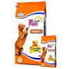 غذای خشک گربه فان کت حاوی گوشت :: Fun Cat Meat
