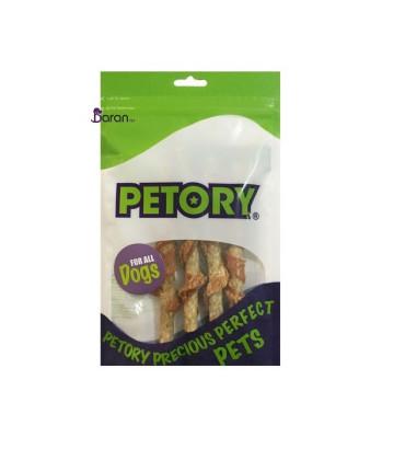 تشویقی سگ پتوری مانچی با طعم گوشت مرغ