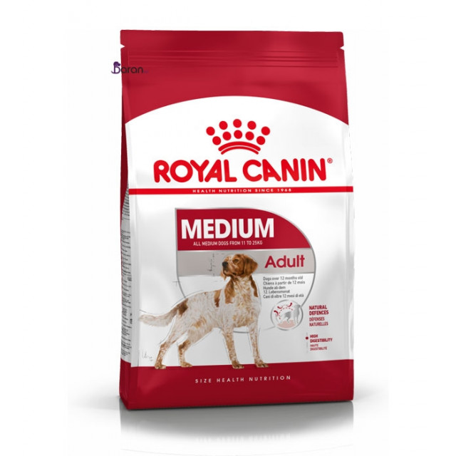 غذای رویال کنین مخصوص سگ نژاد متوسط بالای 12 ماه