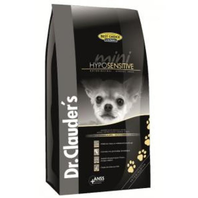 غذای خشک سگ دکتر کلادرز مخصوص سگ بالغ نژاد کوچک بد اشتها یا حساس :: Dr. Clauder's Best Choice Mini Hyposensitive