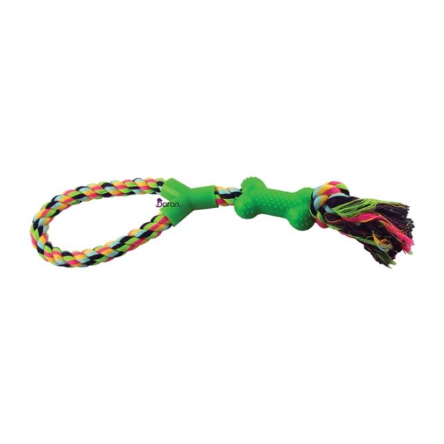 اسباب بازی دندانی طنابی با استخوان پلاستیکی