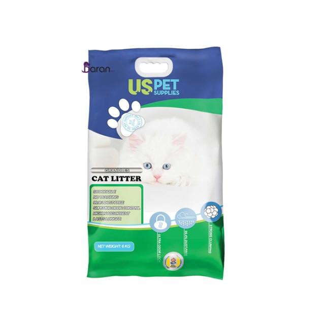 خاک بستر گربه گرانولی با رایحه پودر بچه (8 کیلوگرم)