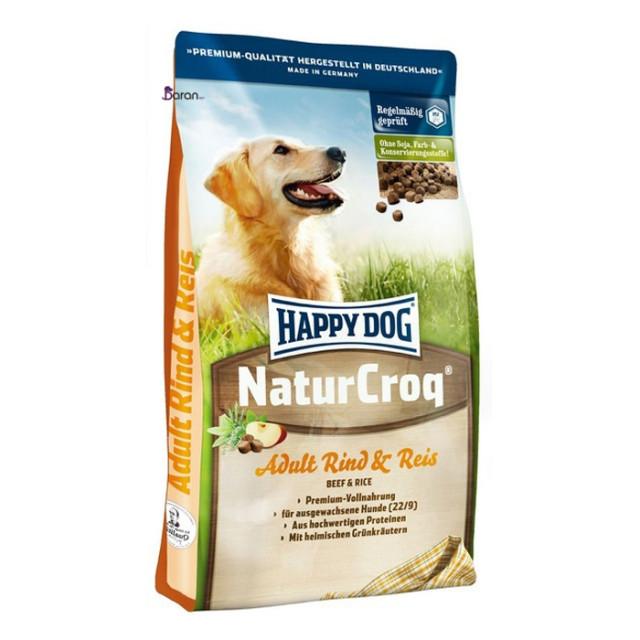 غذای سگ هپی داگ حاوی گوشت گوساله و برنج (1 کیلوگرم)