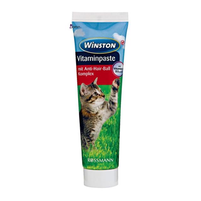 مالت گربه وینستون حاوی مولتی ویتامین (100 گرم)