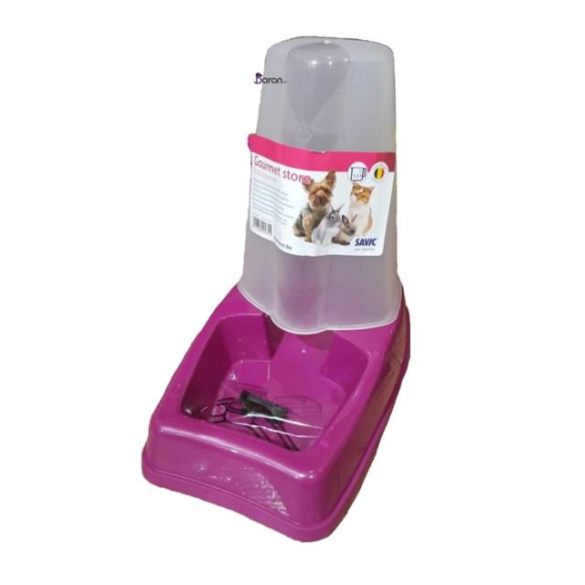 ظرف غذا مخزن دار سگ و گربه ساویک (3 لیتری)