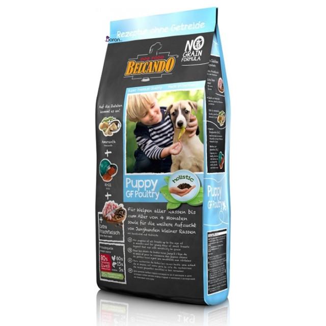 غذای بلکاندو حاوی گوشت پرندگان مخصوص توله سگ 1 تا 4 ماه (4 کیلوگرم)
