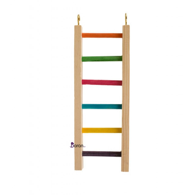 اسباب بازی نردبان رنگی مخصوص پرندگان