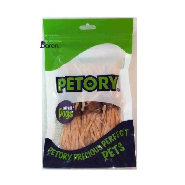 تشویقی سگ پتوری با طعم گوشت و هویج