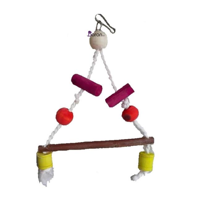 اسباب بازی تاب مثلث کنفی مخصوص پرندگان