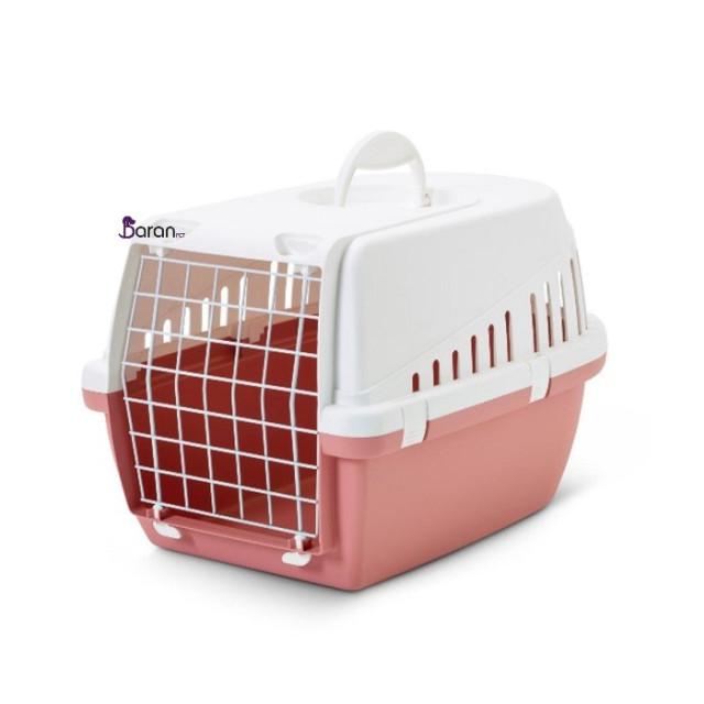 باکس حمل گربه و سگ ساویک سایز کوچک صورتی