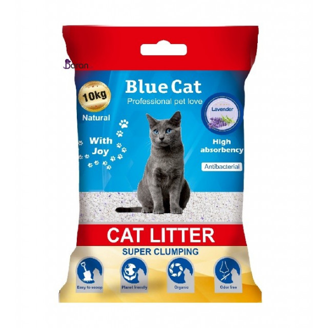 خاک گربه بلو کت با رایحه لاوندر (10 کیلوگرم)