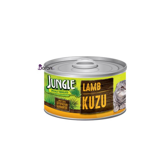 کنسرو گربه جانگل حاوی گوشت بره (85 گرم)