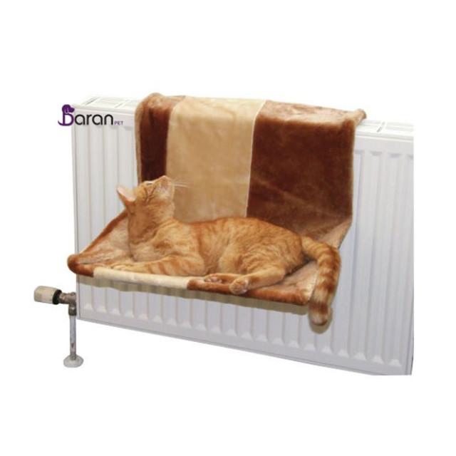 جای خواب مخصوص شوفاژ گربه