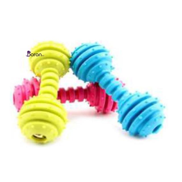 اسباب بازی دندانی سگ یونیک طرح دمبل