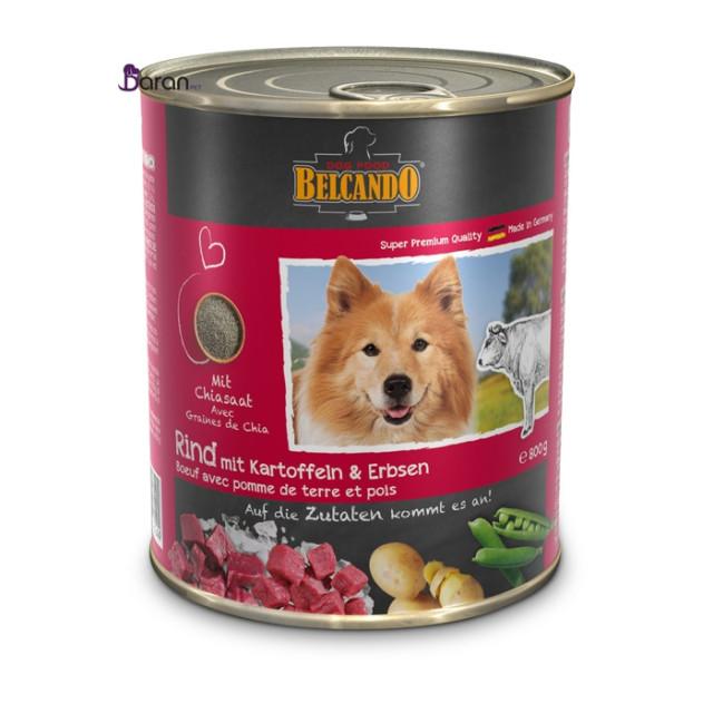 کنسرو سگ بلکاندو حاوی گوشت گوساله با سیب زمینی :: Belcando Beef with Potato