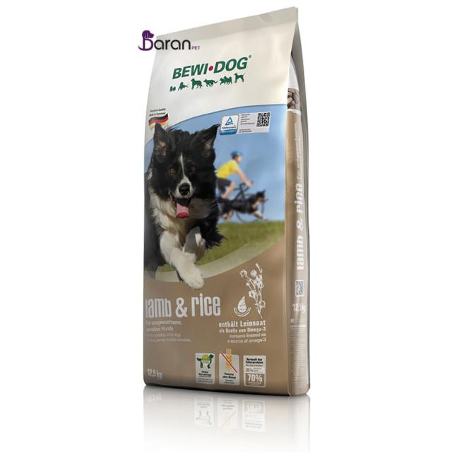 غذای سگ بداشتها بوی داگ حاوی گوشت بره و برنج (12/5 کیلوگرم)