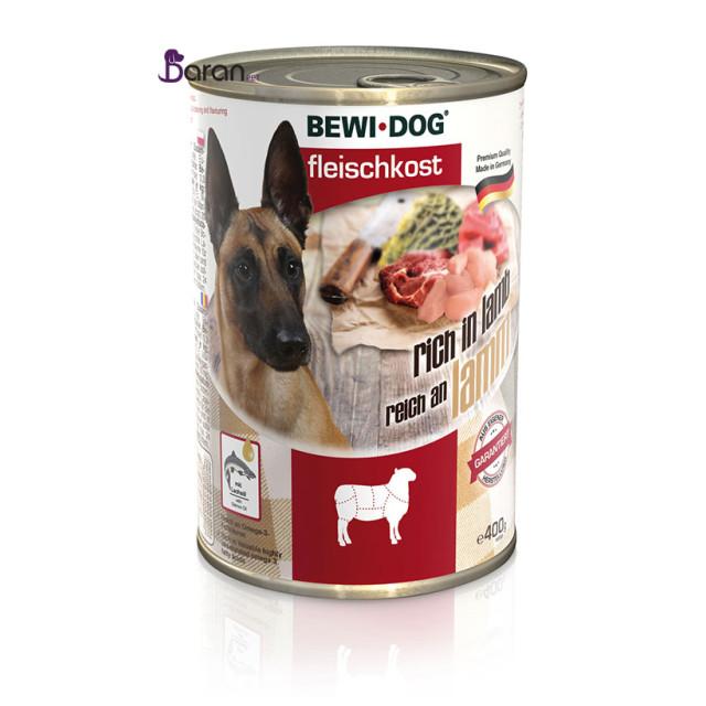 کنسرو سگ بوی داگ حاوی گوشت بره (400 گرم)