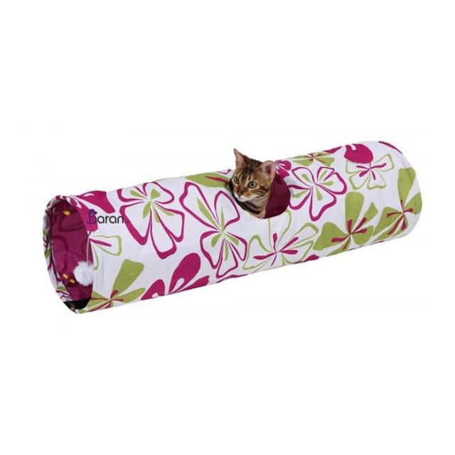 تونل بازی گربه با طرح گل کربل