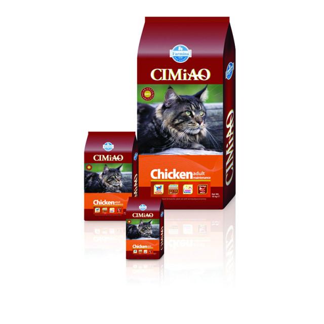 غذای خشک گربه CIMIAO مخصوص گربه بالغ حاوی مرغ :: CIMiAO Chiken Adult