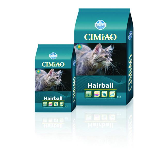 غذای خشک گربه CIMiAO مخصوص دفع گلوله های مو از دستگاه گوارش :: CIMiAO Hairball