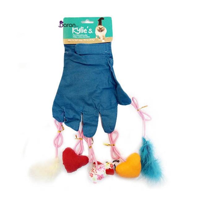 اسباب بازی گربه دستکش آویز دار کایلی