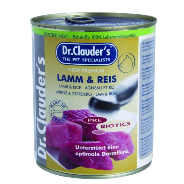 کنسرو سگ دکتر کلادرز حاوی گوشت بره و برنج :: Dr. Clauder's Lamb & Rice