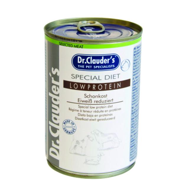 کنسرو سگ دکتر کلادرز کم پروتئین برای بیماران کلیوی :: Dr. Clauder's Special Diet Low Protein for Kidney Diet