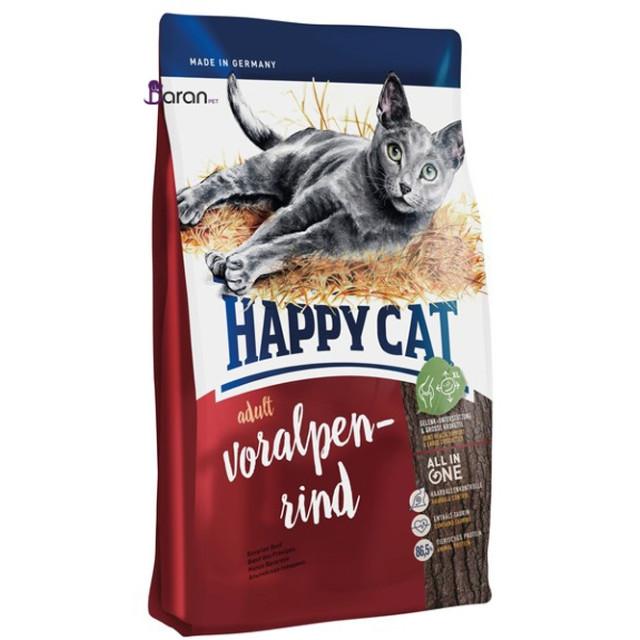 غذای خشک گربه بالغ هپی کت حاوی گوشت گوساله (4 کیلوگرم)