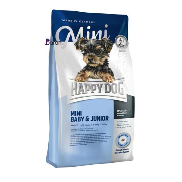 غذای توله و سگ جوان نژاد کوچک هپی داگ (1 کیلوگرم)