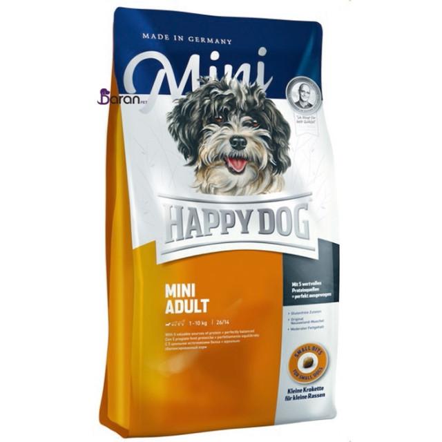 غذای سگ بالغ نژاد کوچک هپی داگ (1 کیلوگرم)