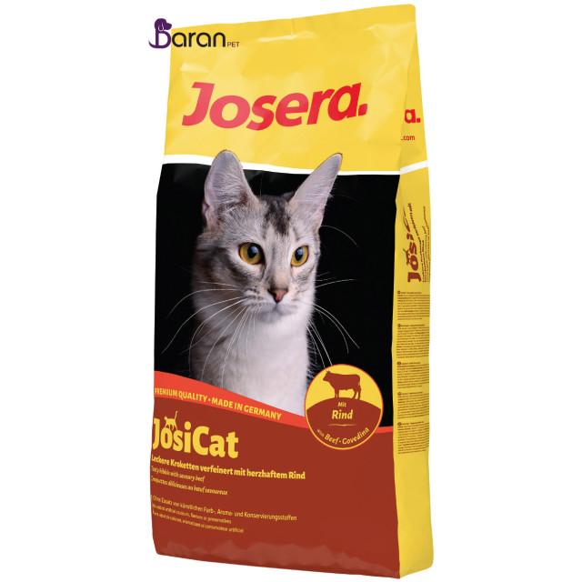 غذای خشک گربه جوسرا حاوی گوشت گوساله :: Joser JosiCat Beef