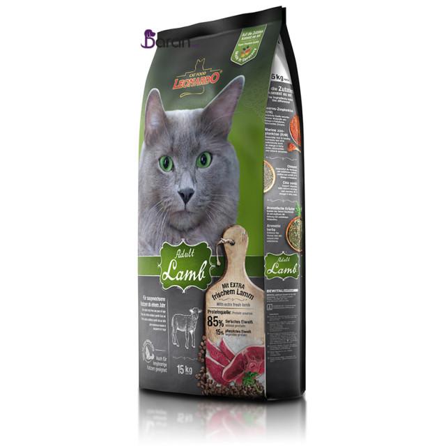 غذای گربه لئوناردو حاوی بره (15 کیلوگرم)