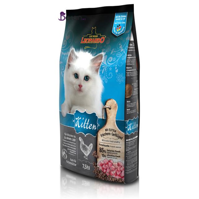 غذای بچه گربه لئوناردو (7/5 کیلوگرم)