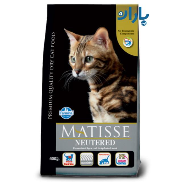 غذای گربه ماتیس مخصوص گربه عقیم شده