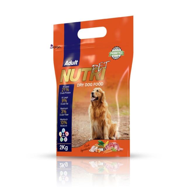 غذای سگ نوتری پت با پروتئین 21٪ (2 کیلوگرم)