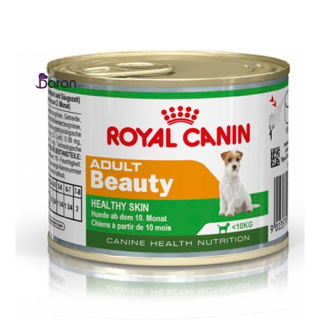 کنسرو رویال کنین برای زیبایی پوست و کاهش ریزش مو سگ