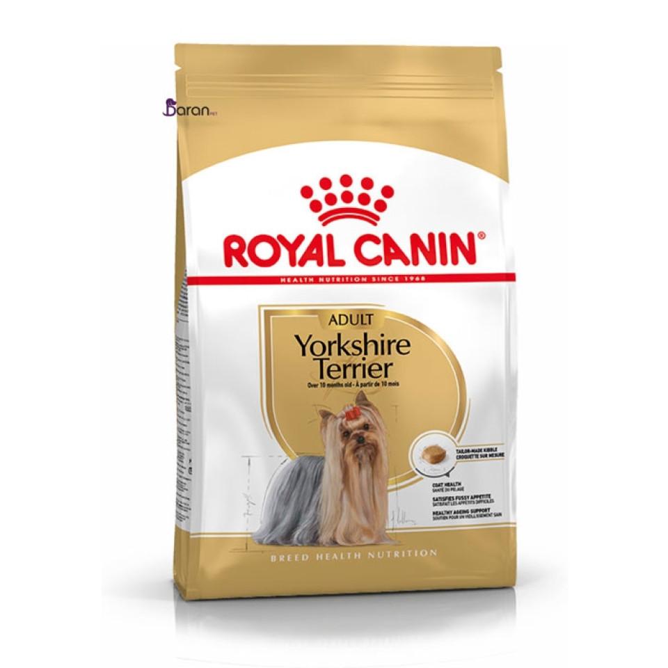 غذای سگ رویال کنین مخصوص نژاد یورکشایر بالای 10 ماه