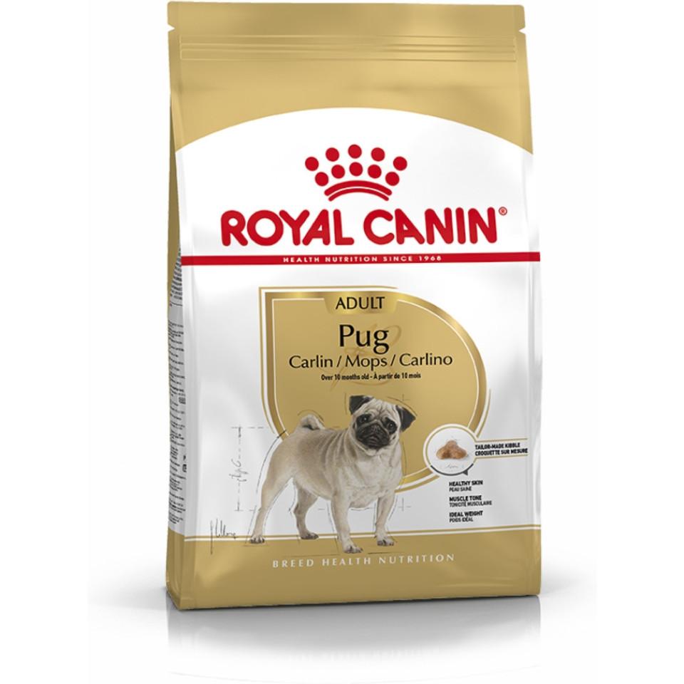 غذای خشک رویال کنین سگ نژاد پاگ بالغ (1/5 کیلوگرم)