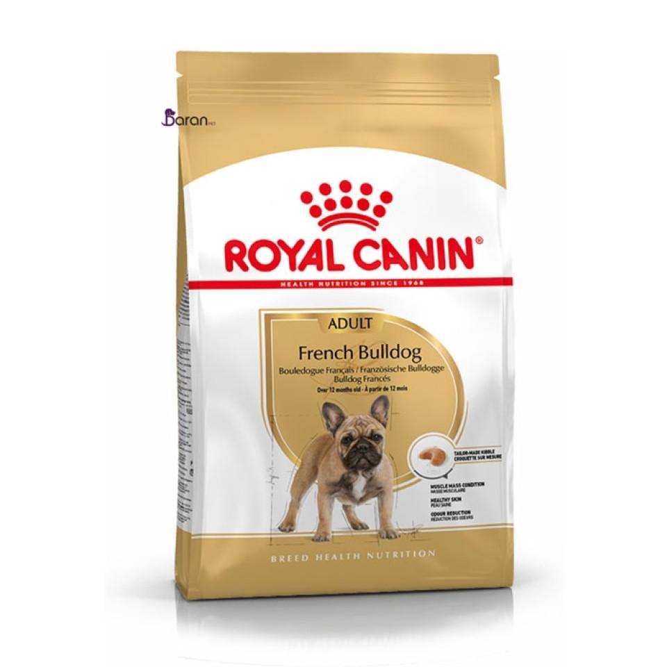 غذای خشک رویال کنین سگ نژاد فرنچ بولداگ بالغ (3 کیلوگرم)