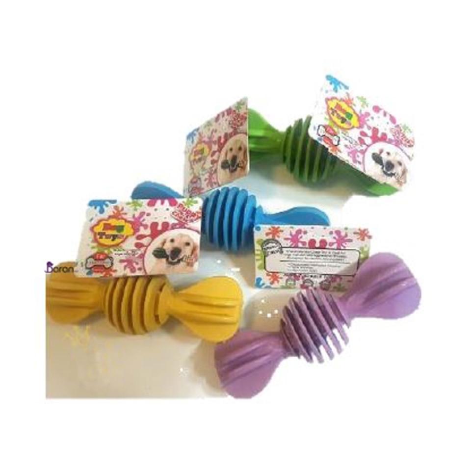اسباب بازی دندانی سگ پت تویز طرح پروانهای