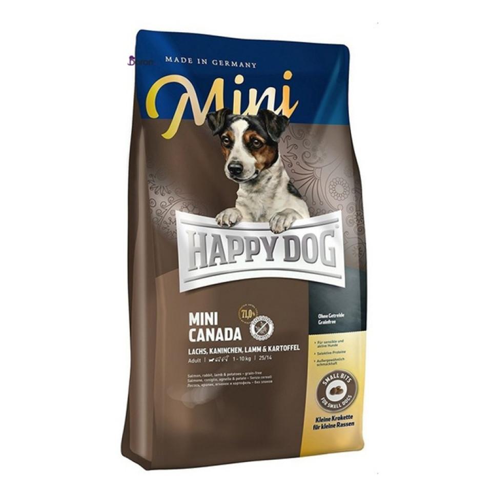 غذای سگ هپی داگ کانادا مخصوص سگ بالغ نژاد کوچک