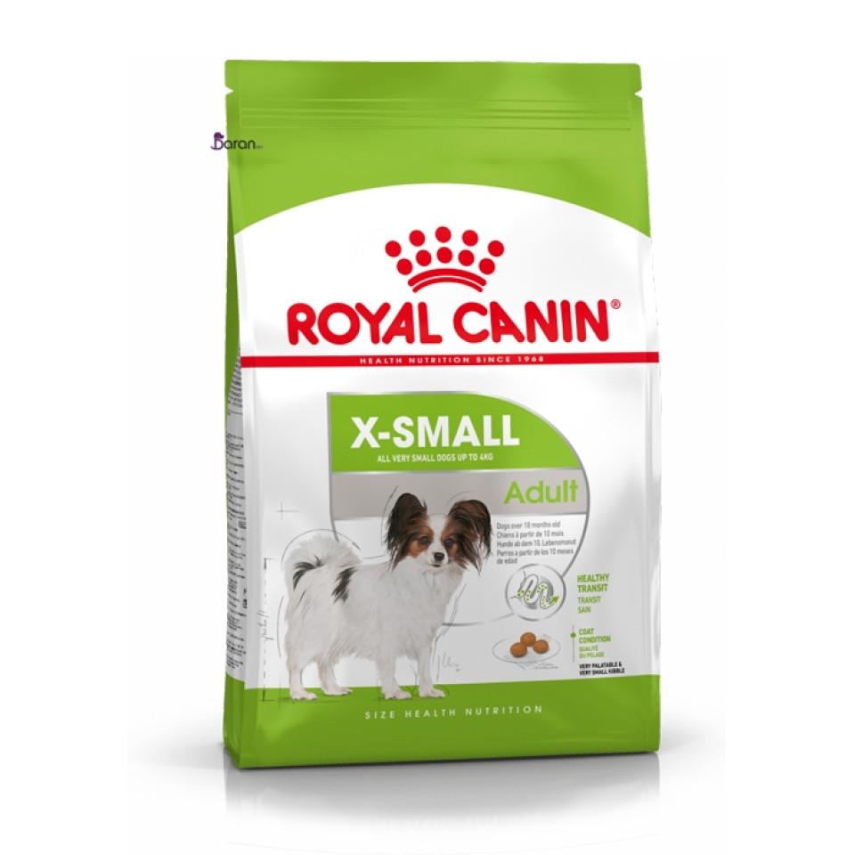 غذای رویال کنین مخصوص سگ بالغ نژاد خیلی کوچک بالای 12 ماه (1/5 کیلوگرم)