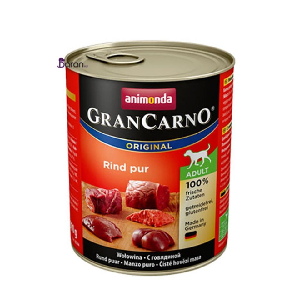 كنسرو سگ گرن کارنو حاوی گوشت خالص گاو (800 گرم)