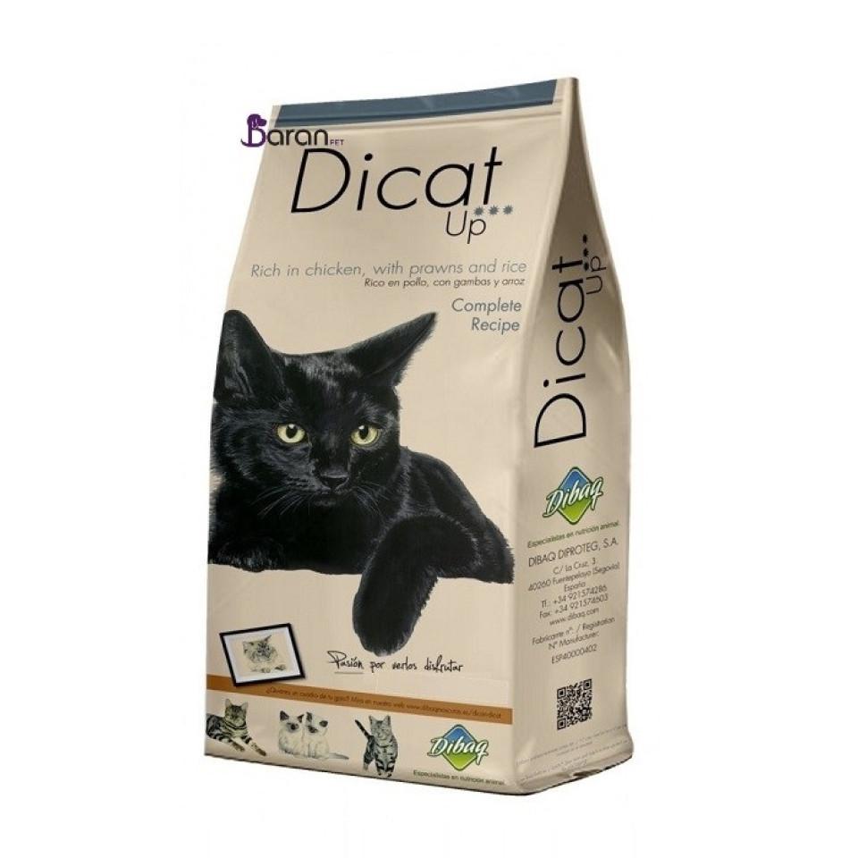 غذای گربه دی کت آپ حاوی گوشت مرغ و میگو (14 کیلوگرم)