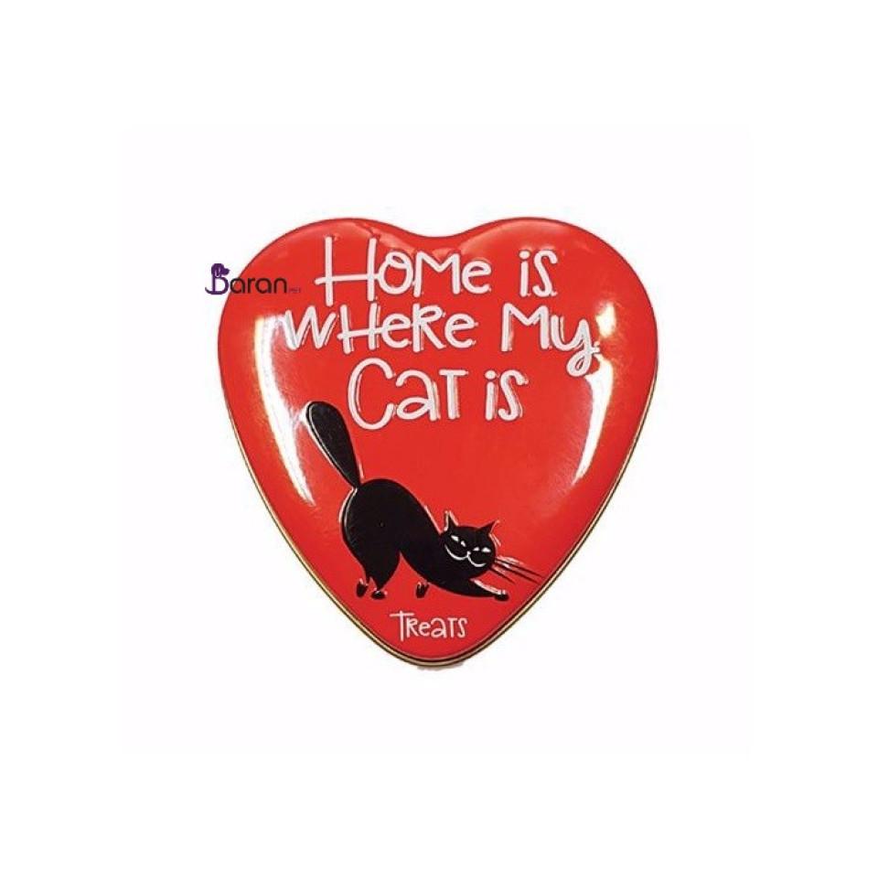 مولتی ویتامین گربه سانال حاوی مخمر با ظرف قلبی شکل (60 گرم) در پت شاپ محمودیه