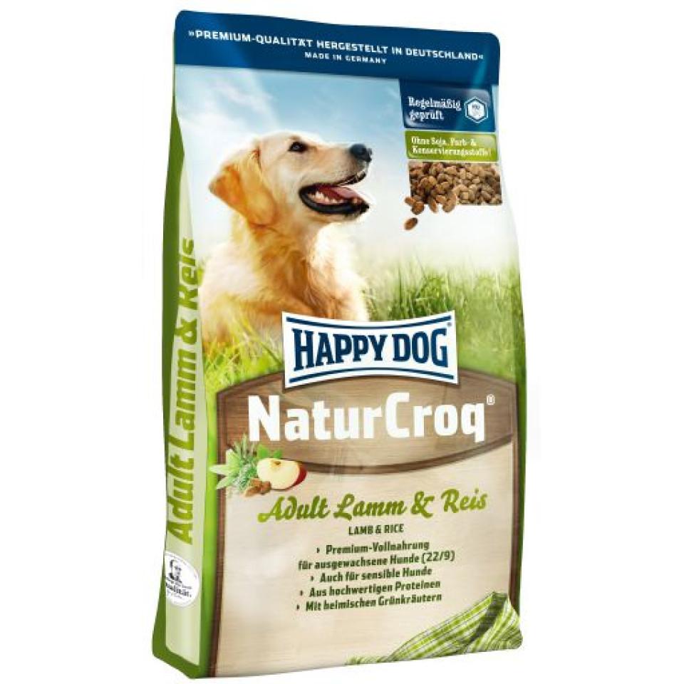 غذای سگ هپی داگ حاوی گوشت بره و برنج (4 کیلوگرم)