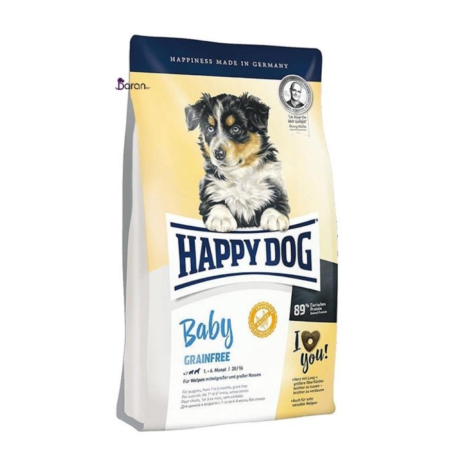 غذای توله سگ نژاد متوسط و بزرگ هپی داگ (10 کیلوگرم)