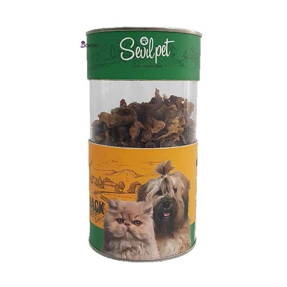 تشویقی سگ و گربه سنگدان مرغ سویل پت